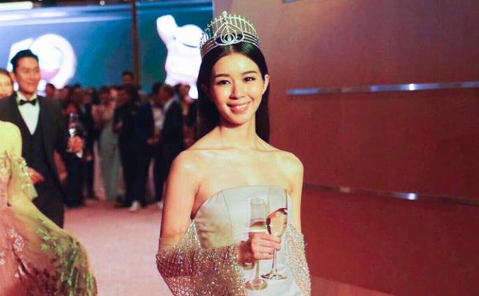 Louisa Mak was crowned Miss Hong Kong in 2015.