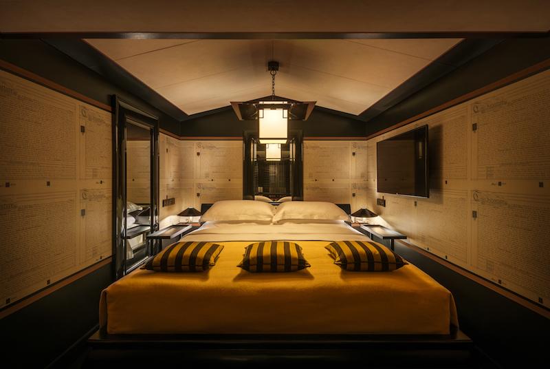 Opium suite bedroom. Photo: Six Senses Duxton