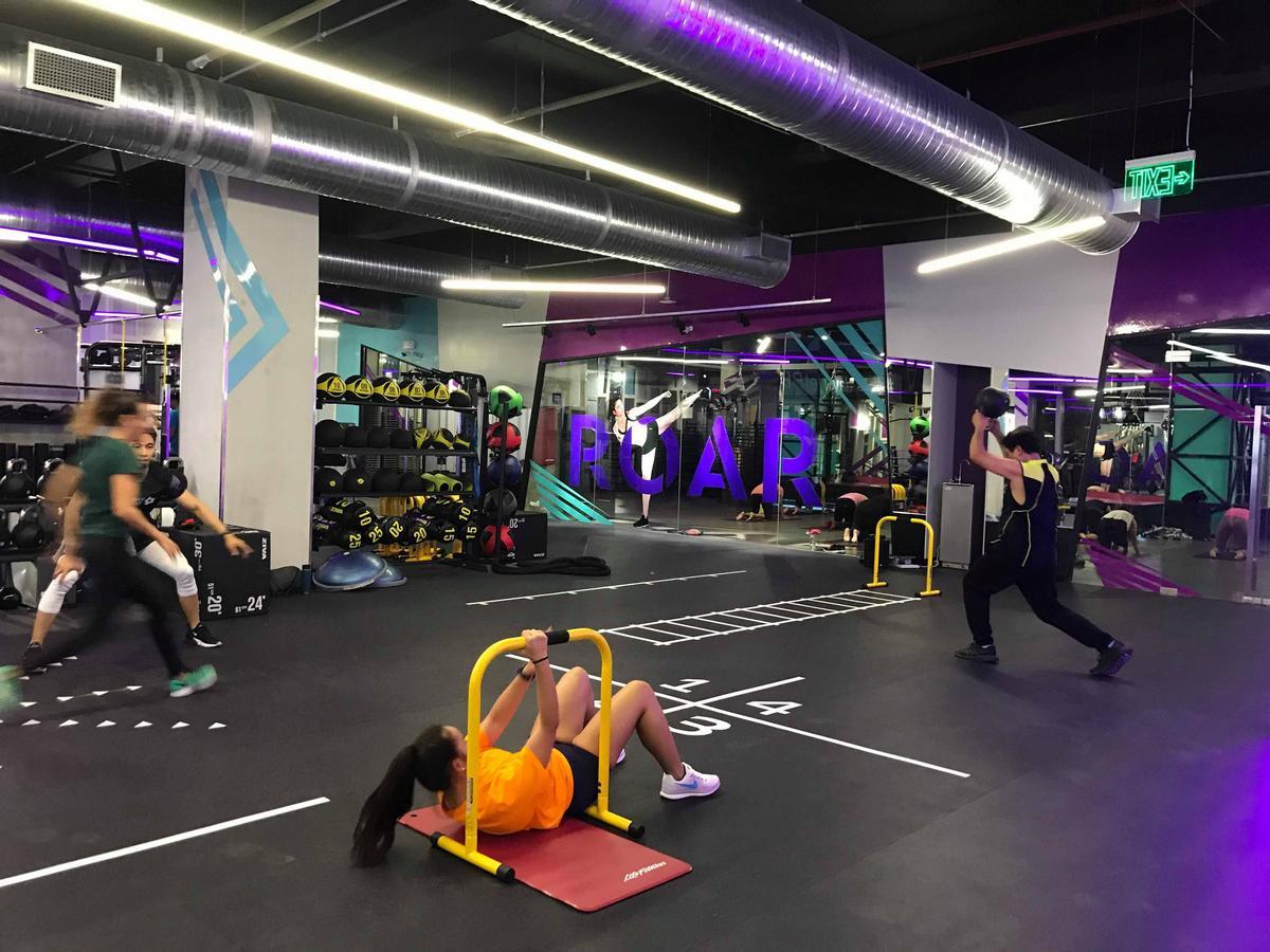 Celebrity Fitness gym. Photo: Kaka Corral