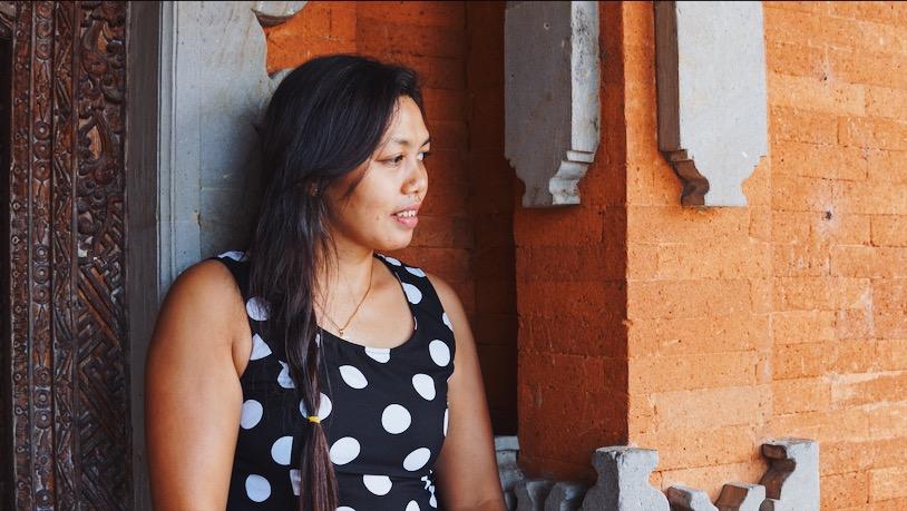 Kariani at her home in North Bali on  Feb. 10, 2019. Photo: Julianne Greco/Coconuts Bali