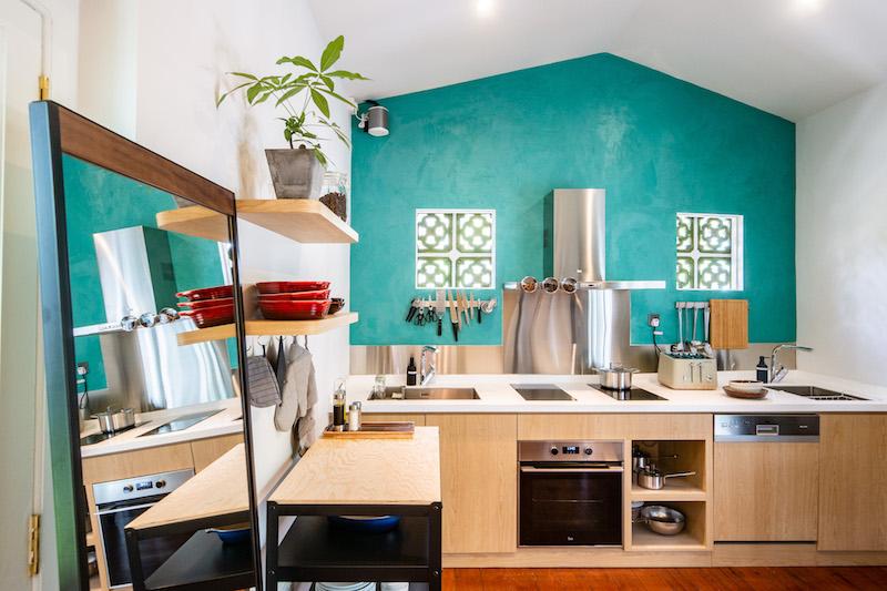 The communal kitchen. Photo: Kesa House