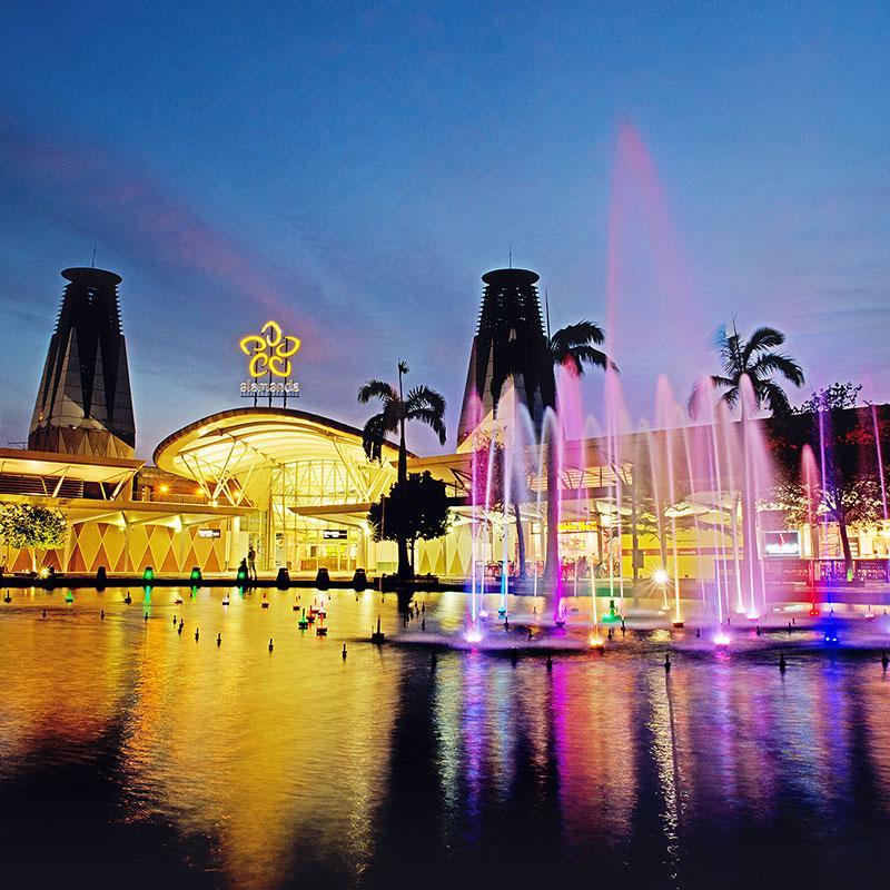 Alamanda Shopping Centre serves the folks in Putrajaya. Photo: Alamanda Shopping Centre