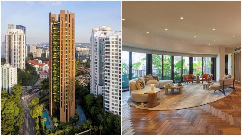 The luxury Eden condo on Orchard Road. Photos: Eden Singapore/Instagram